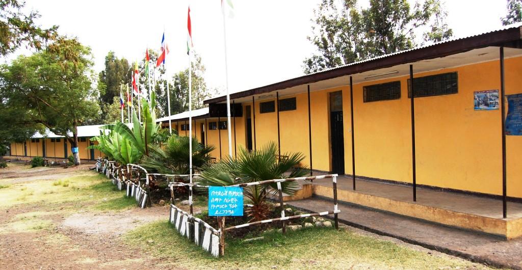 Primary School constructed in Wuchale