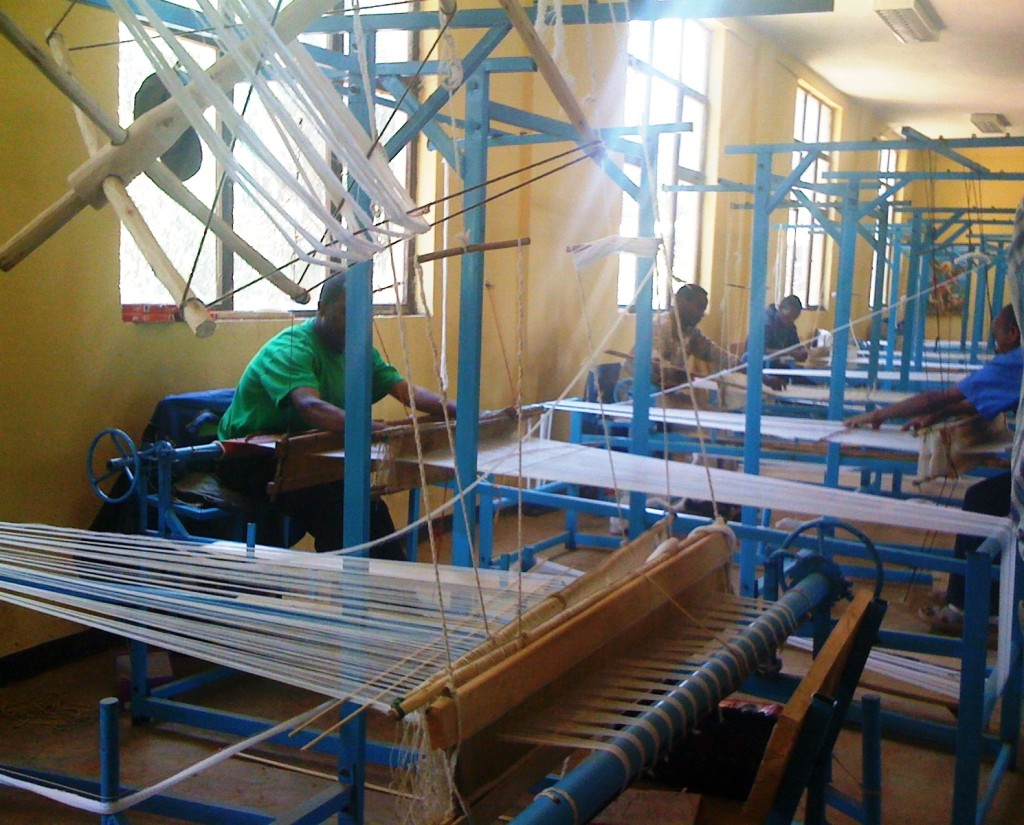 Weaving, one of the components of IGA program