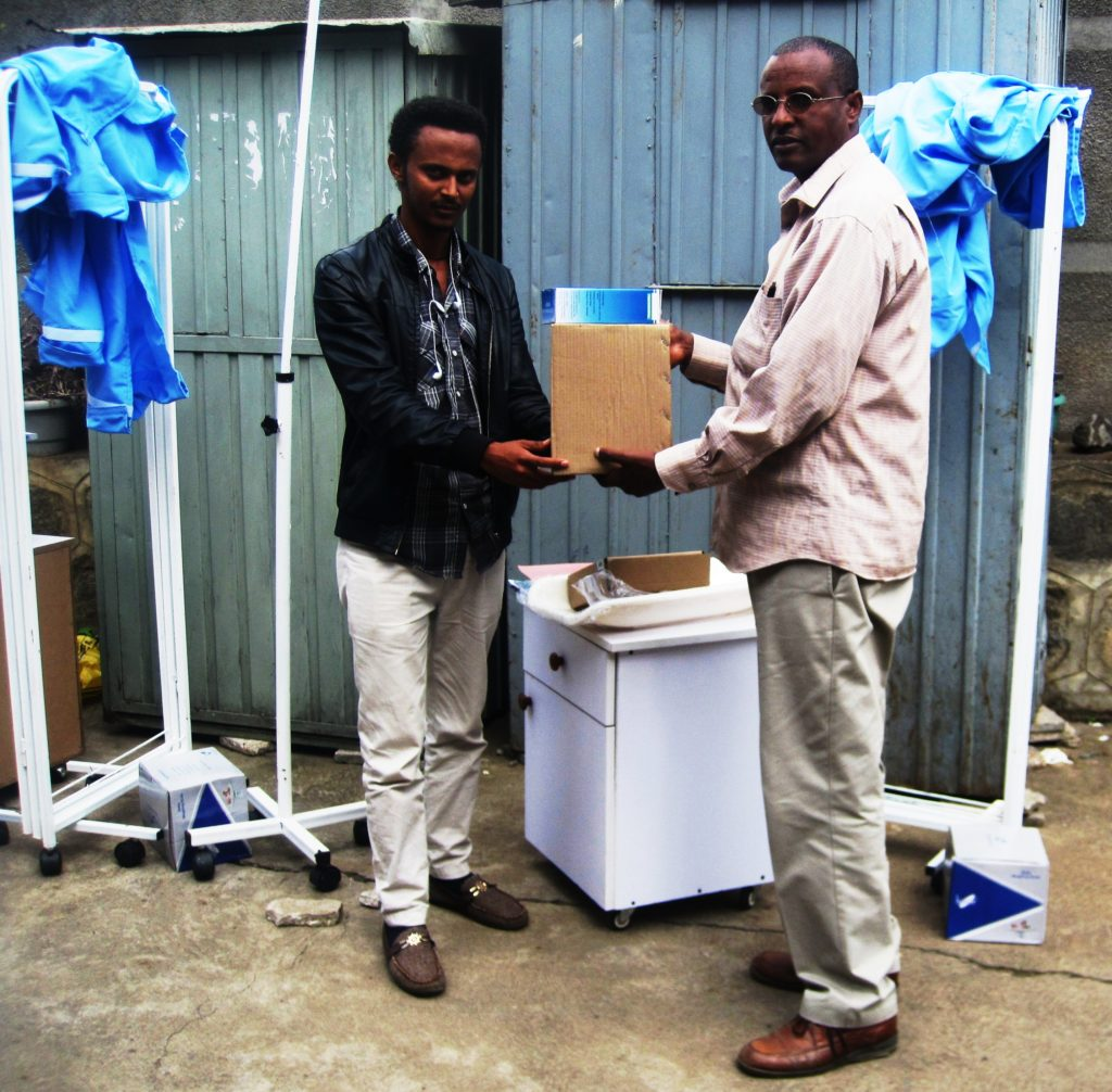 Medical Equipment provided for health centers in Yeka & Gulellesub cities of Addis Ababa
