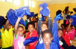 School Uniform distribution in Addis Ababa