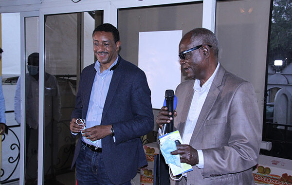 Former coaches of the Ethiopian National Team Presented a speech for Shelter Children