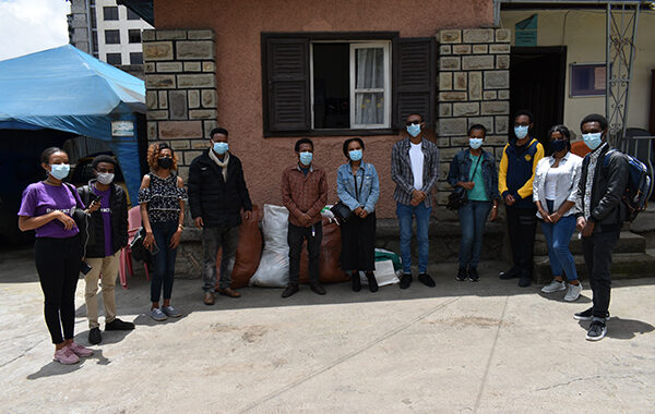 Rotary Groups Donated Clothes for IFSO Survivors of Sexual & Gender-based Violence